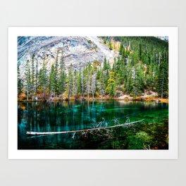 Grassi Lakes, Canmore Alberta - Canada Art Print
