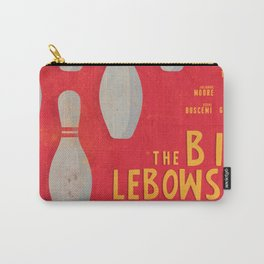 The Big Lebowski - Movie Poster, Coen brothers film, Jeff Bridges, John Turturro, bowling Carry-All Pouch