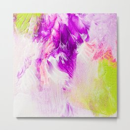 The joy of Paint -  bold abstract Painting Metal Print