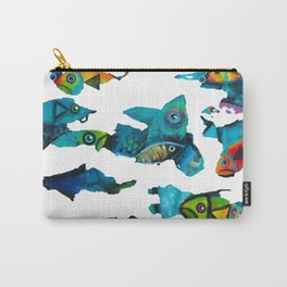 Camouflage Water World Carry-All Pouch
