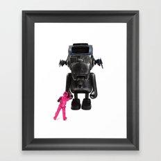 Dudebox Customs | no: 03, The Trooper Framed Art Print