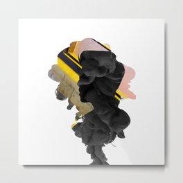 SVT - S.Coups Smoke Effect Metal Print