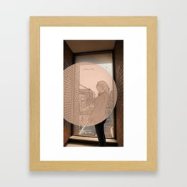 Headlock Framed Art Print