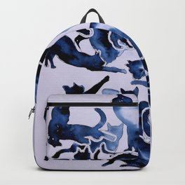 Black Cats Silhouettes Backpack