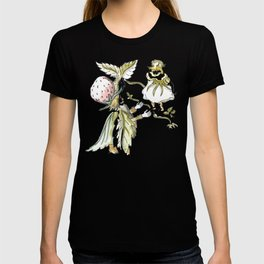 Little Girl and the Old King - Inspiration of Elsa Beskow T-shirt