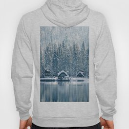 Winter's Cottage (Color) Hoody
