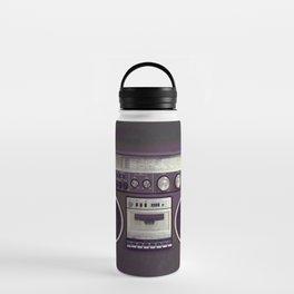 Retro Boombox Water Bottle