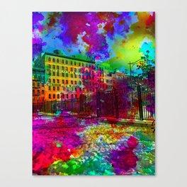 Tribeca Snow Canvas Print