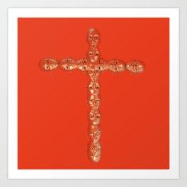 Cross (2019) - Redgrits Art Print