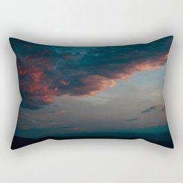 Sunset Over the Blue Ridge Mountains Rectangular Pillow