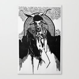 Goatman Canvas Print