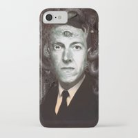lovecraft iPhone & iPod Cases featuring H.P. Lovecraft  by MATT DEMINO