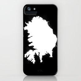 Iceland W&B iPhone Case