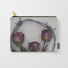 Three dried Roses II Carry-All Pouch
