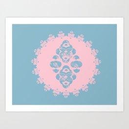 Domino East Art Print
