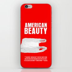 American Beauty Movie Poster iPhone & iPod Skin