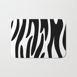 Animal Print Pattern – Zebra 3 Bath Mat