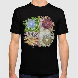 Bepainted Concrete Flower  ID:16165-003711-19651 T-shirt