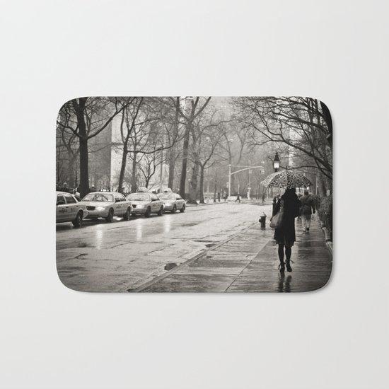 New York City - Rain Bath Mat