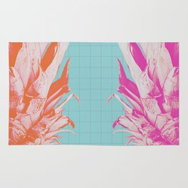 Double Pineapple's Candy Rug