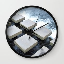 Stepping Stone Wall Clock