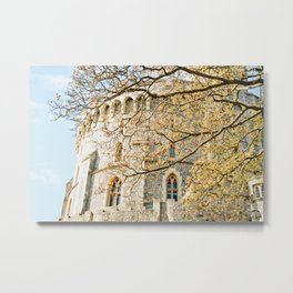 Windsor Castle in the Fall Metal Print
