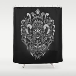 Majestic Garuda Shower Curtain