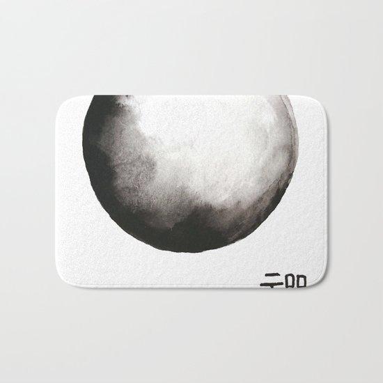 "Zen painting and Chinese calligraphy of ""Zen"" Bath Mat"