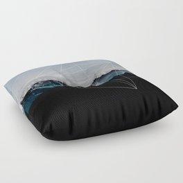 Mountains II Floor Pillow