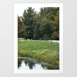 Farming Beauty! Art Print