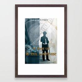 Jekill & Hyde Framed Art Print