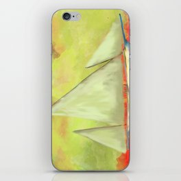 Abstract-ship iPhone Skin