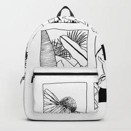 Botanical print Greenhouse Backpack