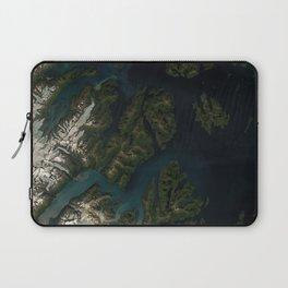 Kings Bay, Prince William Sound, Alaska Laptop Sleeve