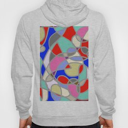Stain Glass Abstract Meditation Painting 1 Hoody