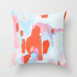Color Study No. 11 Throw Pillow