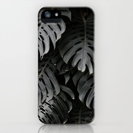split leaf philodendron iPhone Case