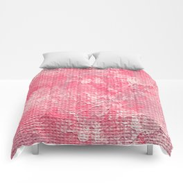 Pink Wall Comforters