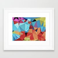 peace Framed Art Prints featuring inner peace by contemporary