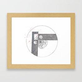 Small Rose Pt I Framed Art Print