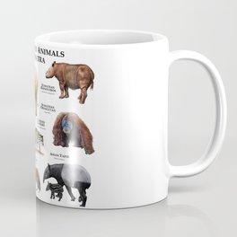 Endangered Animals of Sumatra Coffee Mug