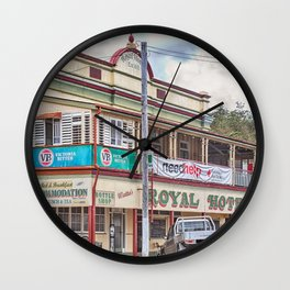 The old Country Pub Wall Clock