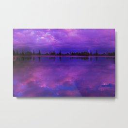 Reservoir Dreams Metal Print