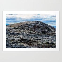 Krafla Lava fields - Iceland Art Print