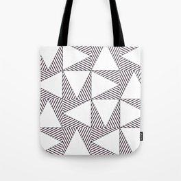 Audrey and Frank - Modern Envelopes (Pink) Tote Bag