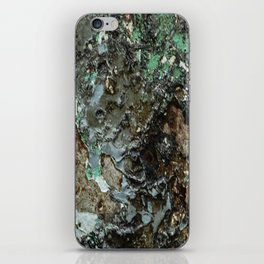 Weathered Iron rustic decor iPhone Skin