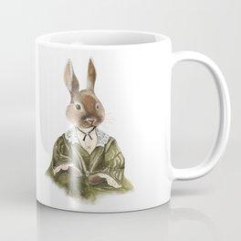 Victorian Lady Rabbit Coffee Mug