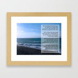 Dearest Friend Framed Art Print