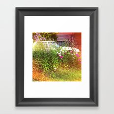 man vs nature Framed Art Print