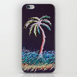 """Ghost Palms of Kauai #8"" Painting iPhone Skin"